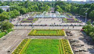 پارک گورکی مسکو جاذبه های دیدنی مسکو