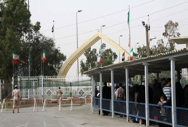 مرز ایران و عراق ; مرز عراق ; تاریخ باز شدن مرز عراق