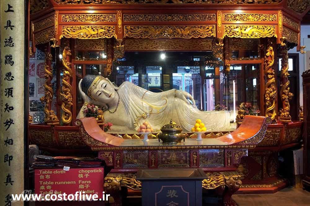 معبد سنگ های یشمی شانگهای چین