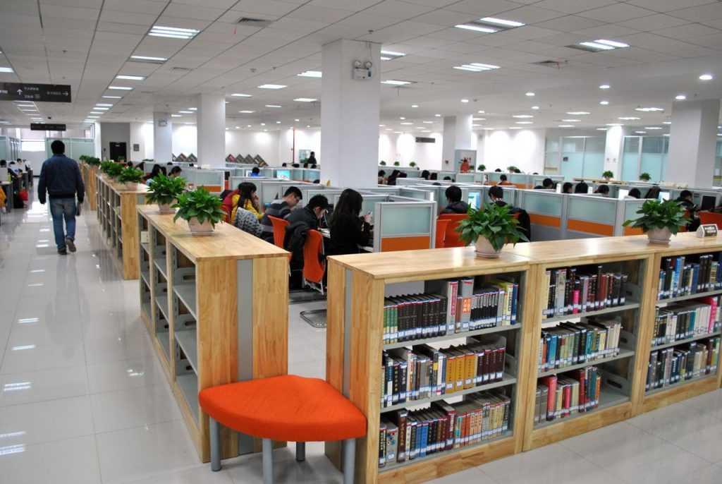 کتابخانه دانشگاه ووهان