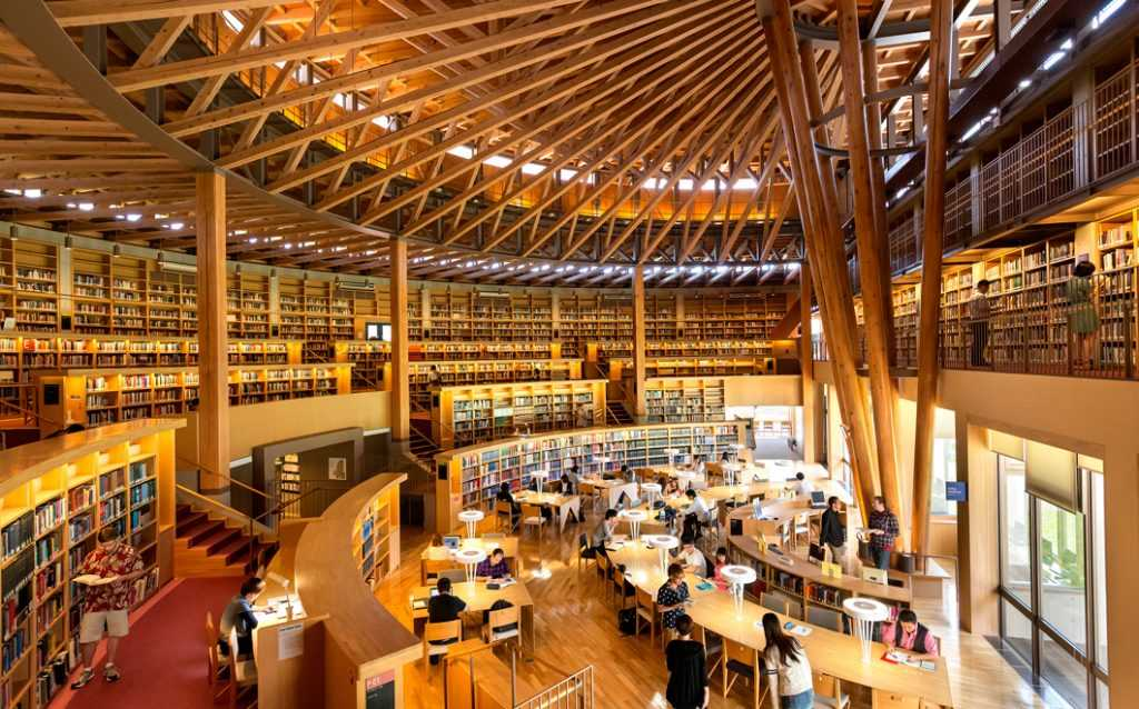 کتابخانه دانشگاه توکیو ژاپن