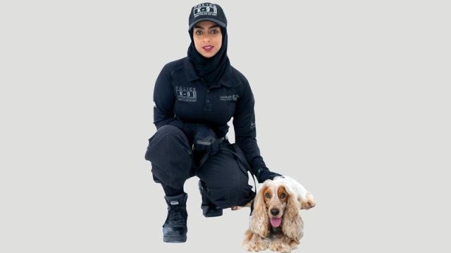 سگ های تشخیص کرونا در فرودگاه امارات