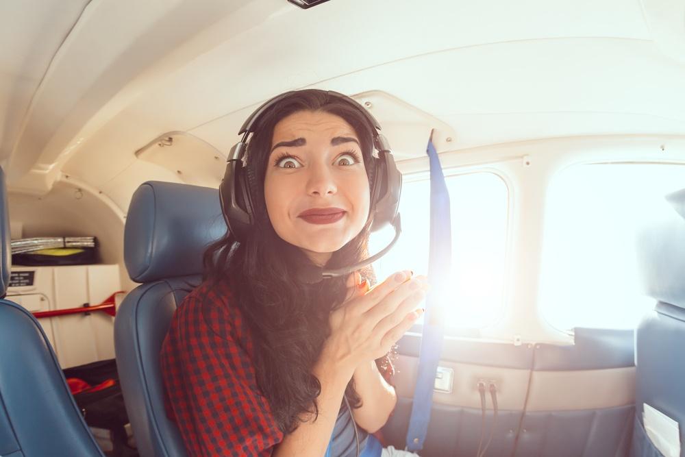 بررسی ترس از پرواز