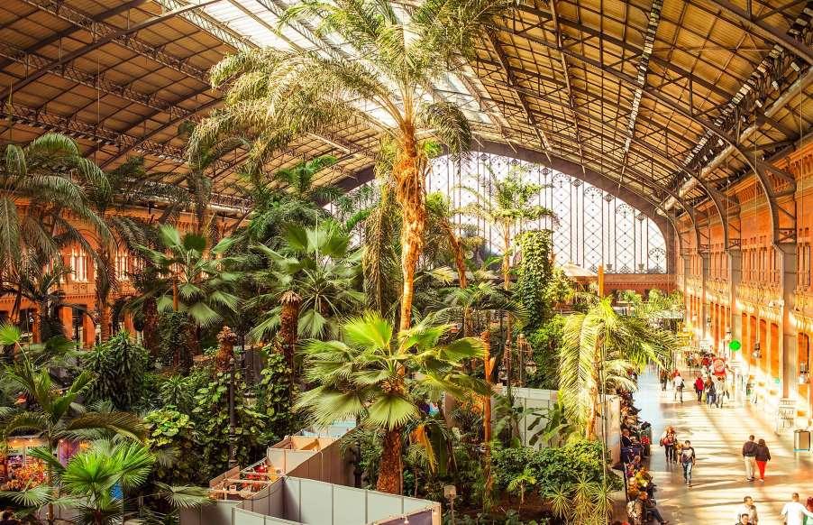 ایستگاه قطارآتوچا مادرید اسپانیا