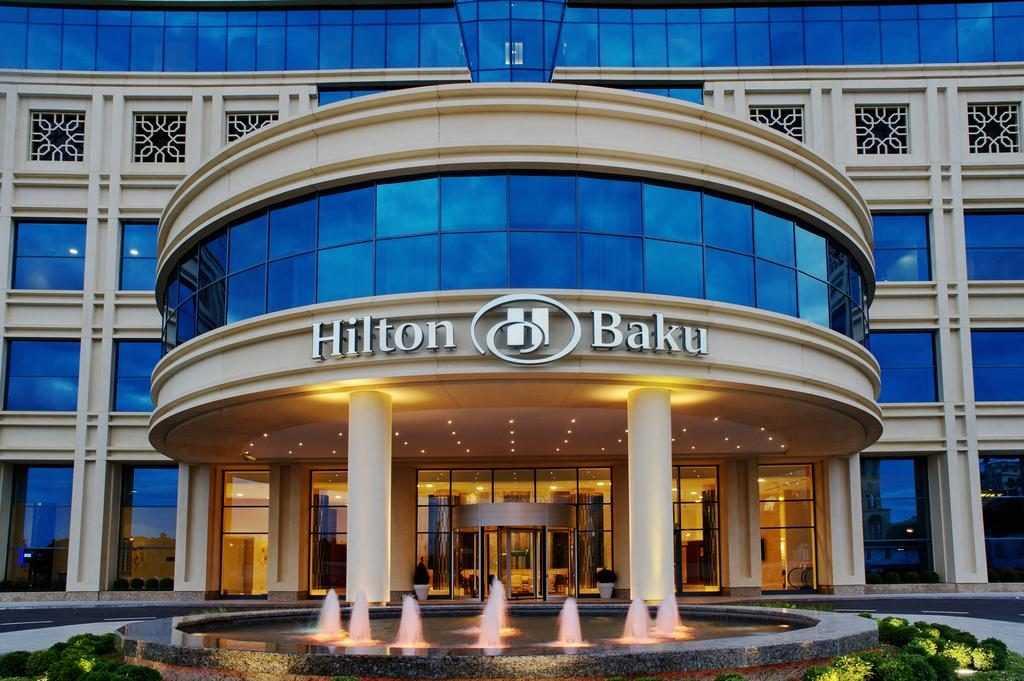 هتل هیلتون از هتل های پرطرفدار باکو