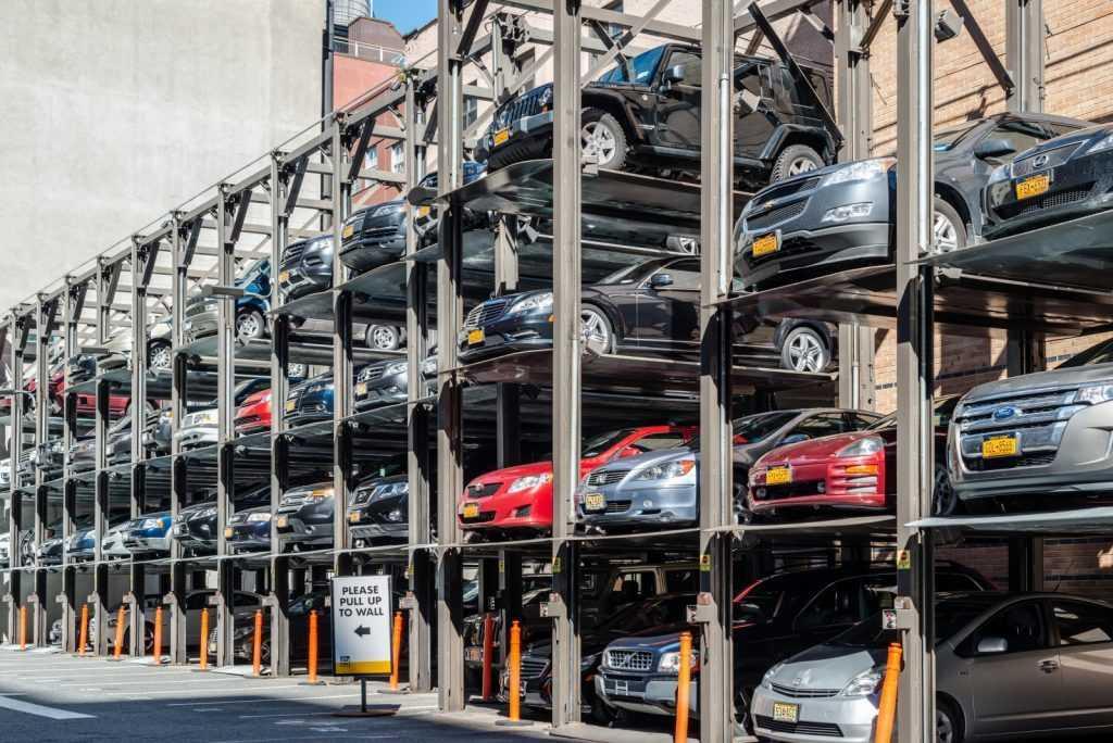 پارکینگ در خیابان های نیویورک